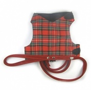 Tartan Cat Harness and Posh Lead