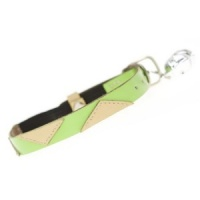 Tigger Lime Leather Designer Cat Collar
