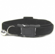 Velvet Kitten Collar | Small & Soft | Black
