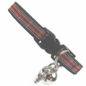 Welsh Tartan Cat Collar with Rugby Ball