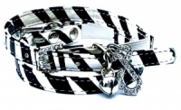 Zebra Zinger Cat Collar by Puchi