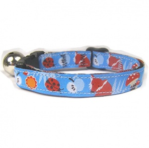Woodland Wildlife Cat Collar | Fox