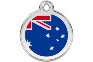 Australian Cat Tag by Red Dingo