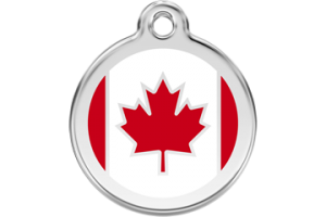 Canadian Cat Tag by Red Dingo