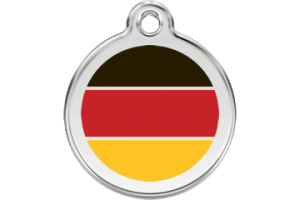 German Cat Tag by Red Dingo