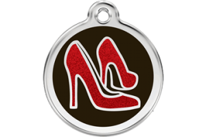 Glitter Cat ID Tag | Red Shoes