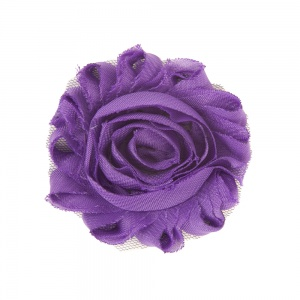 Cadbury Purple Flower Accessory for Cat Collars