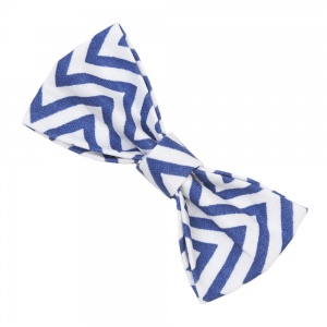 Blue Waves Bow Tie