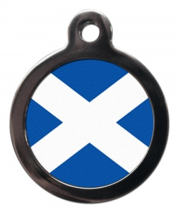 St Andrews Scottish Cat ID Tag