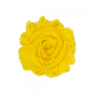Lemon Yellow Flower Accessory for Cat Collars