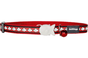 Red Fish Reflective Cat Collar by Red Dingo