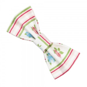 Rose Garden Cat Bow Tie