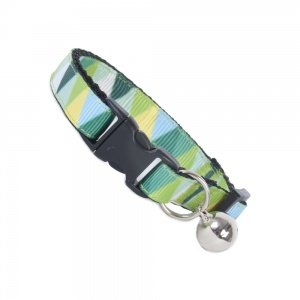 Green Triangle Cat Safety Collar