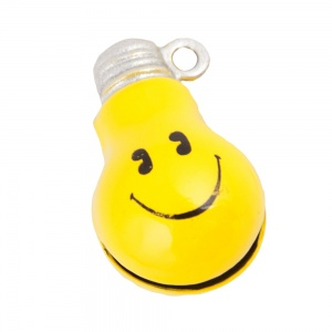 Smiley Lightbulb Bell for Cat