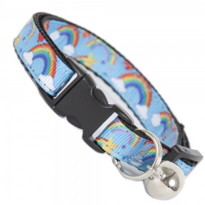 Over The Rainbow Cool Cat Collar