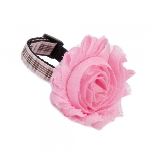 Baby Pink Flower Accessory for Cat Collars