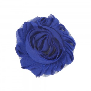 Navy Blue Flower Accessory for Cat Collars