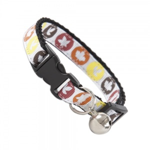 Autumn Leaves Cat Safety Collar
