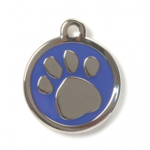 Blue Paw Designer Cat Tag