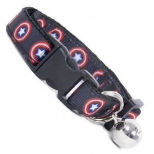 Captain America Cool Cat Collar