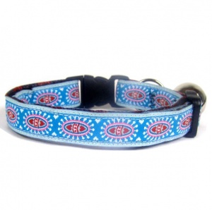 Dandelion Hearts Woven Cat Collar
