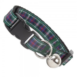 Hunting Tartan Cat Collar