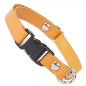 Marmalade Luxury Leather Cat Collar