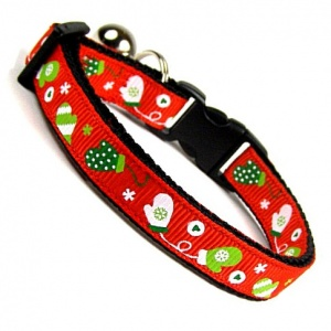 Mittens for Kittens Cat Collar | Red