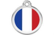 French Cat Tag by Red Dingo