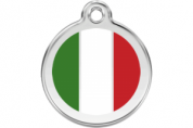 Italian Cat Tag by Red Dingo