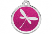 Glitter Cat ID Tag | Dragonfly