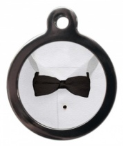 Bow Tie Cat ID Tag