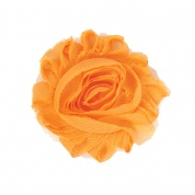 Ginger Orange Flower Accessory for Cat Collars