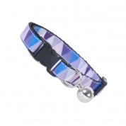 Purple Triangle Cat Safety Collar