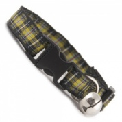 Cornish Tartan Cat Collar