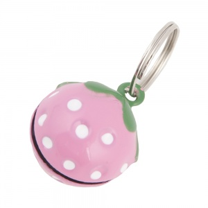 Pink Stawberry Bell for Cat Collar