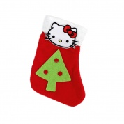Kitty Little Christmas Cat Stocking | Chrsitmas Tree