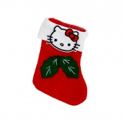 Kitty Little Christmas Cat Stocking | Holly