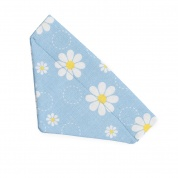 Light Blue Daisy Bandana