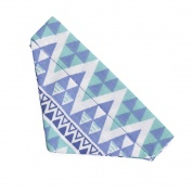 Blue Tribal Cat Bandana