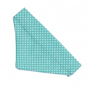 Teal Diamond spots Bandana