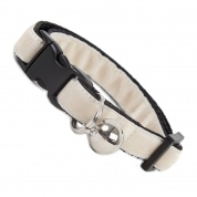 Clotted Cream Velvet Cool Cat Collar