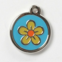 Flower Power Cat Tag
