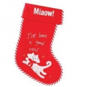 Good Cat Christmas Stocking for Cats