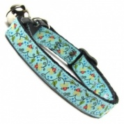 Woodland Wildlife Cat Collar | Lily Pond