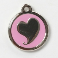 Melting Heart Cat Tag