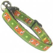 Woodland Wildlife Cat Collar | Squirrel