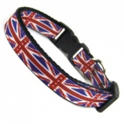 Union Jack British Flag Cat Collar