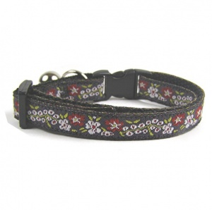 Vintage Embroidered Cat Collar